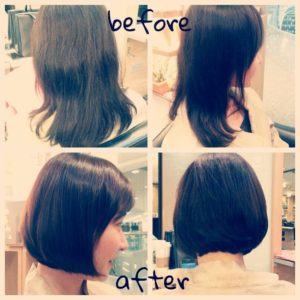 Hair Cut & Volume Rebonding