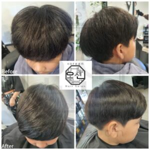 men's Volume Rebonding